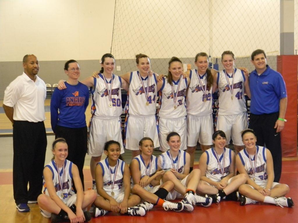 Angels Win The AAU Super Regional