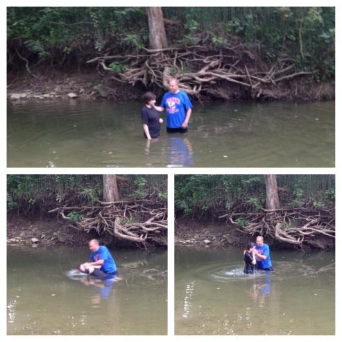 Alicia baptism