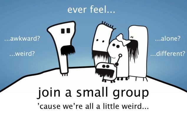 Small Group wierd copy