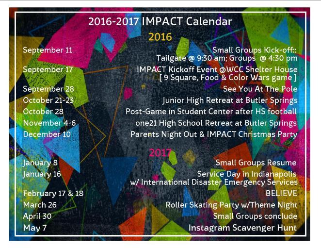 IMPACT 2016-2017